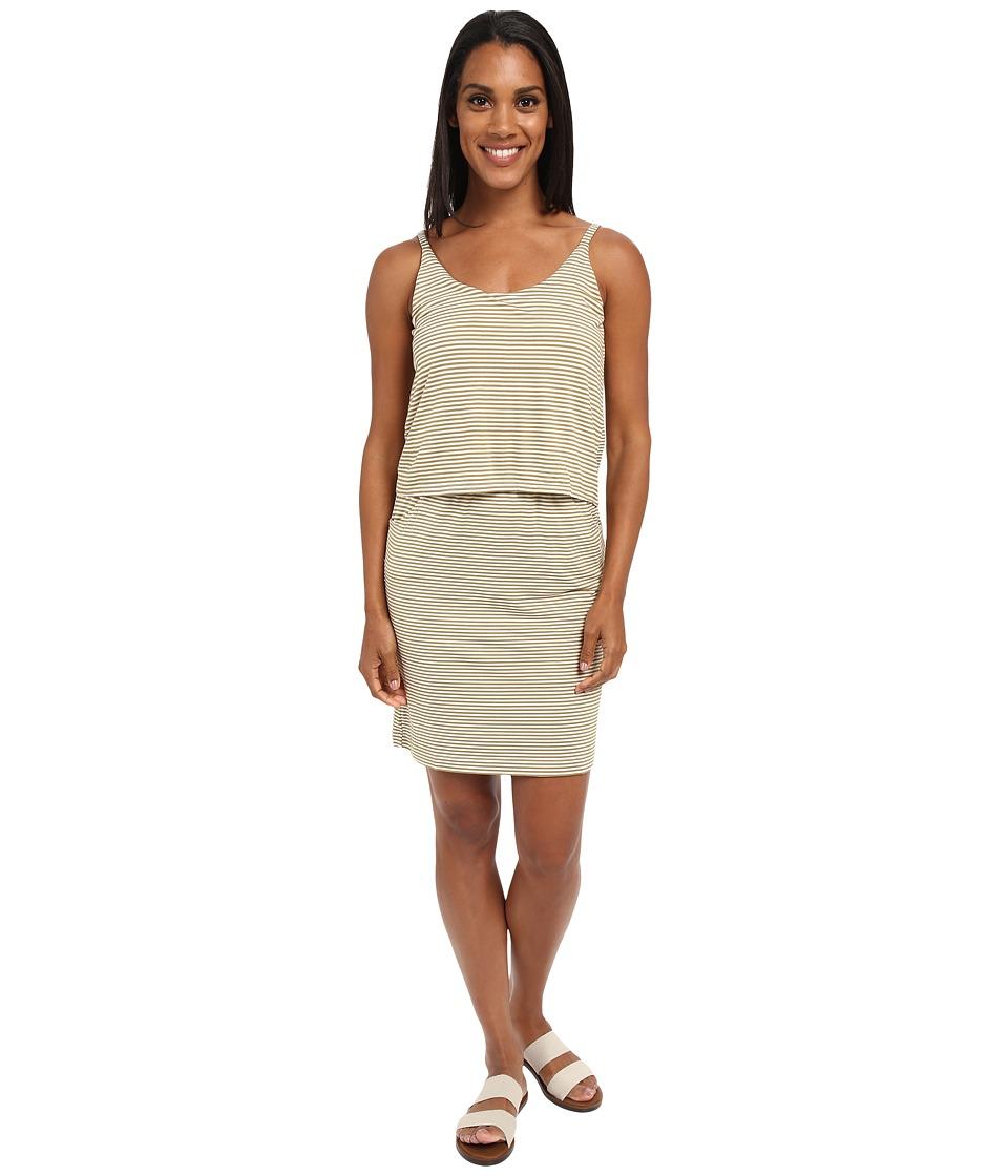 KAVU Coco Dress (Olive) Women