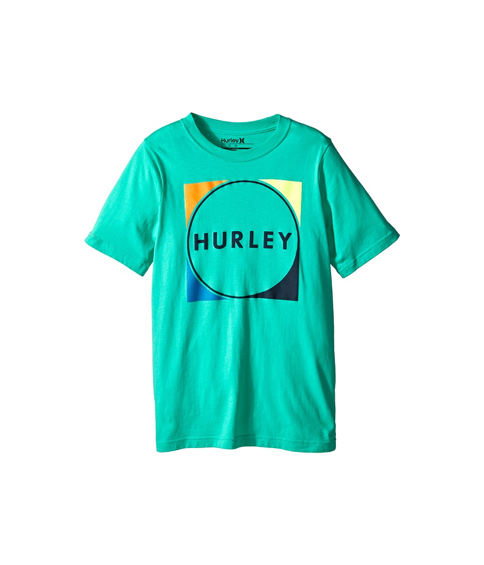 Hurley Kids - The Lost Short Sleeve Tee (Big Kids) (Menta) Boy
