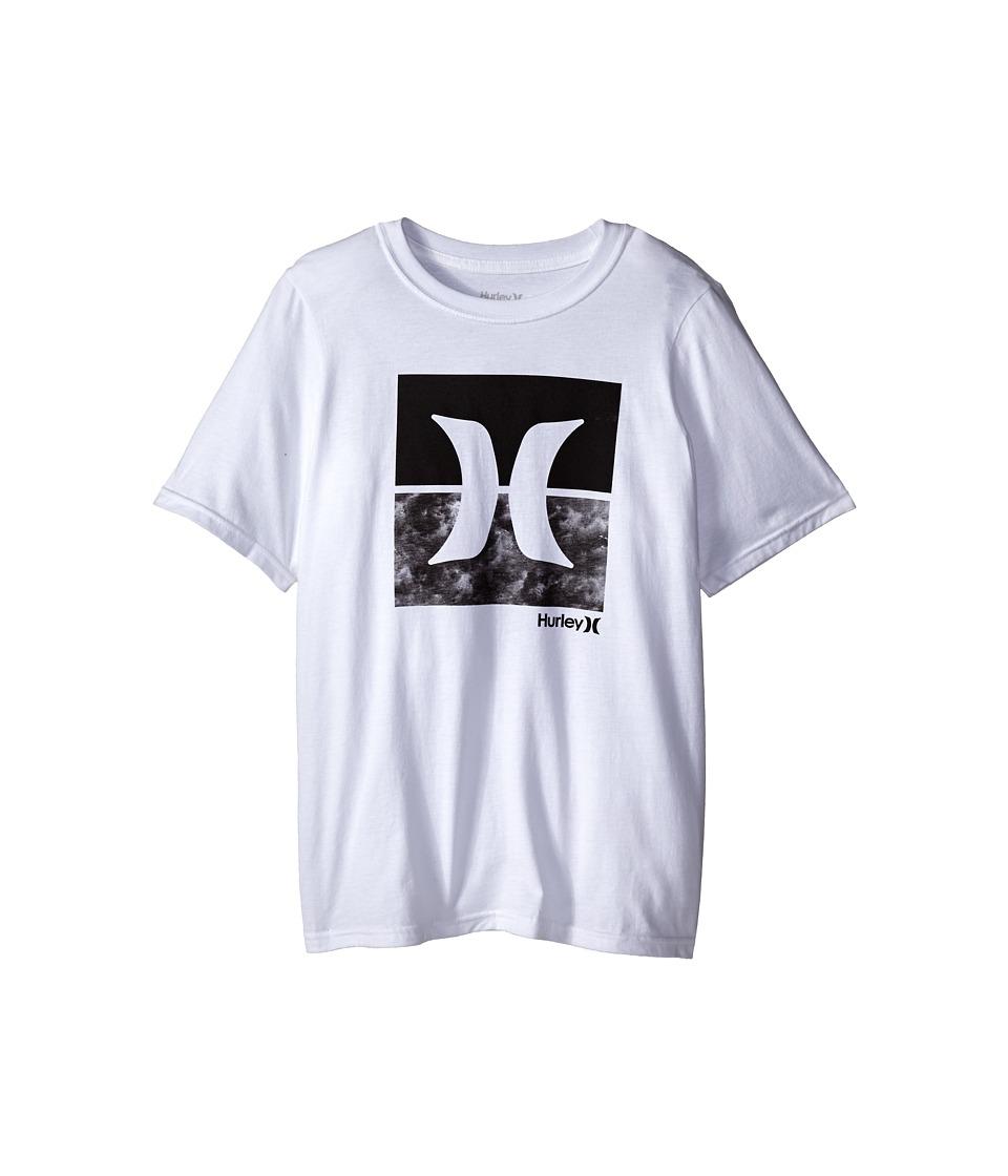 Hurley Kids - Breezeway Tee (Big Kids) (White) Boy's T Shirt