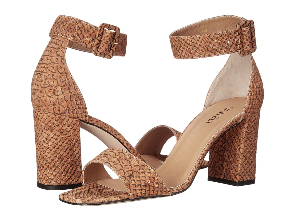Vaneli - Thyni (Natural Serpy Cork) High Heels