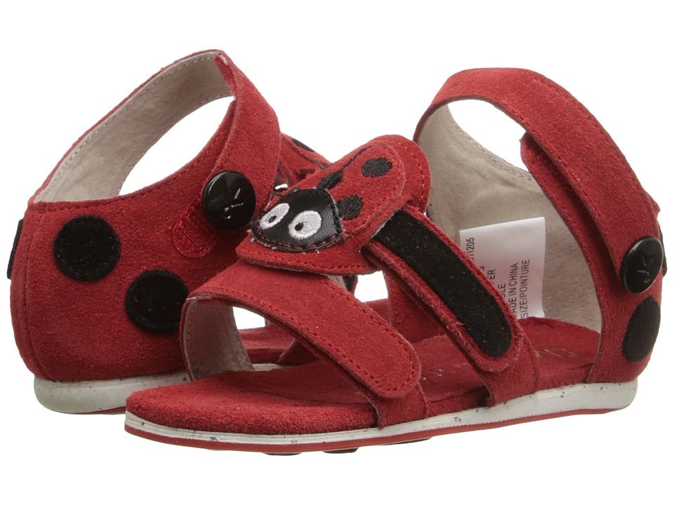 EMU Australia - Ladybird Sandal (Infant) (Red) Sandals