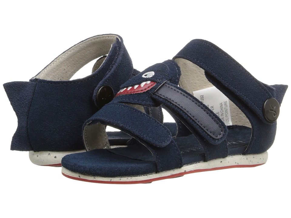 EMU Australia - Shark Sandal (Infant) (Navy) Sandals