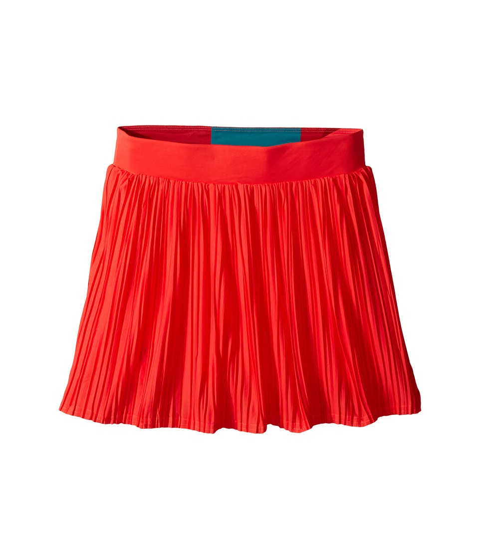 adidas Kids - Girls' Adizero Skort (Little Kid/Big Kid) (Shock Red/Shock Green) Girl's Skort