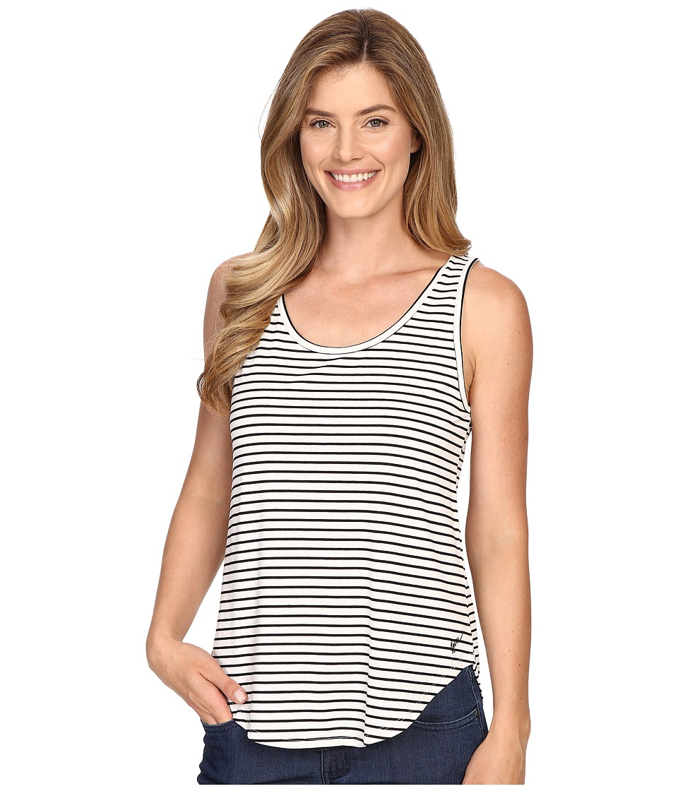 KAVU - Raya Tank (BW Stripe) Women's Sleeveless