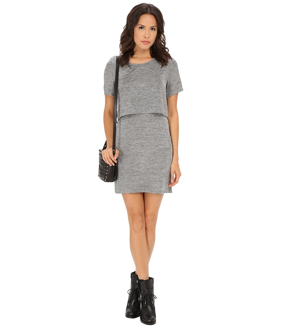 MINKPINK - Revolution Layered Tee (Grey) Women's Dress