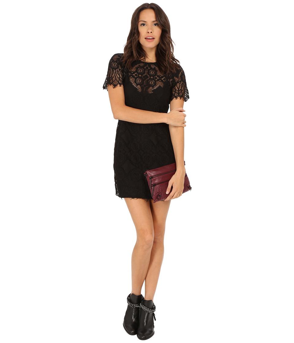 MINKPINK Lost Lover Two-Piece Mini Dress (Black) Women