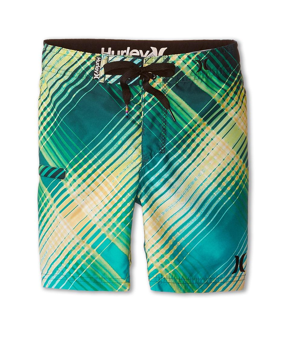Hurley Kids - Ray Boardshorts (Little Kids) (Teal) Boy's Swimwear