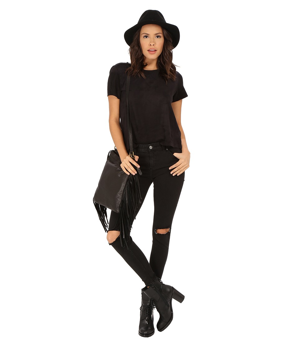 MINKPINK Truth Potion Seemed Tee (Black) Women