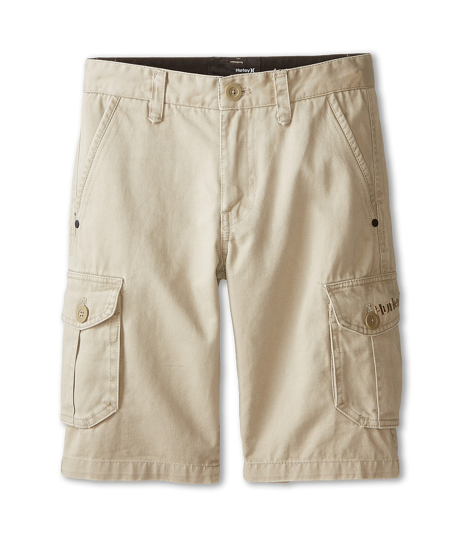 Hurley Kids - One Only Cargo Shorts (Big Kids) (Bamboo) Boy's Shorts