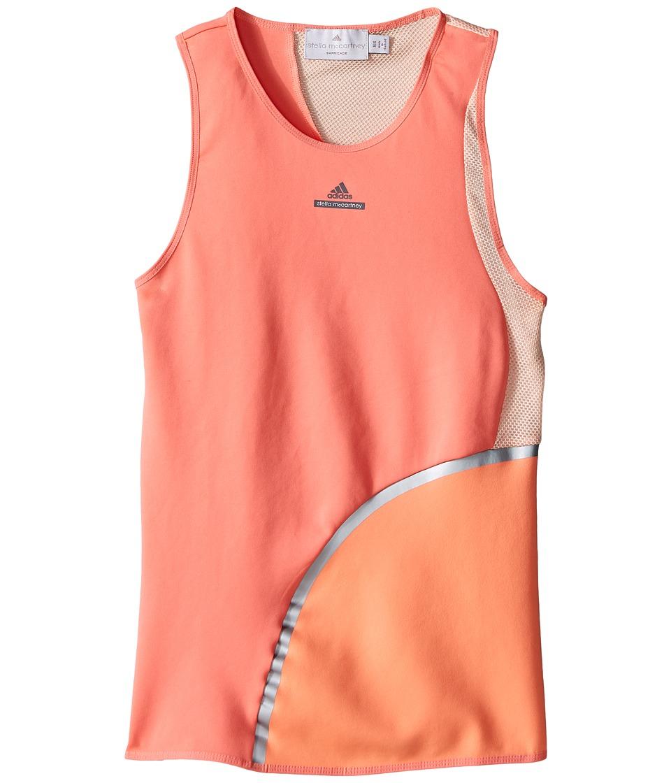 adidas Kids - Stella Tank Top (Little Kids/Big Kids) (Coral Pink/Semi Flash Orange) Girl's Sleeveless