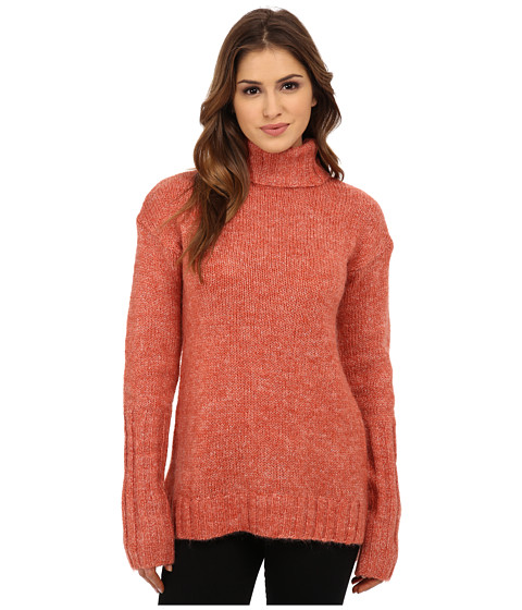MINKPINK - Curious Roll Neck Sweater (Red) Women's Sweater
