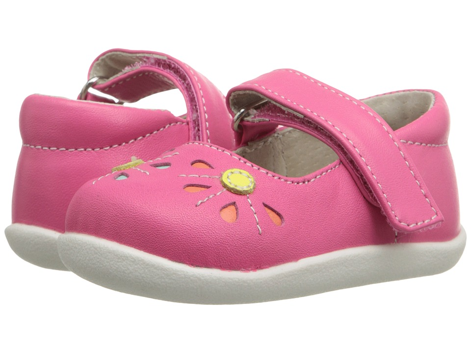 See Kai Run Kids - Aviva (Infant/Toddler) (Hot Pink) Girl's Shoes