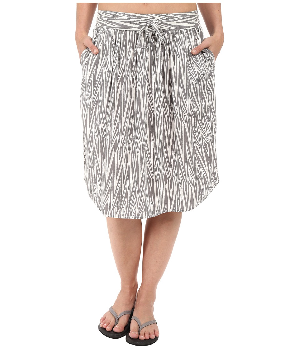 KAVU Joplin Skirt (Grey) Women