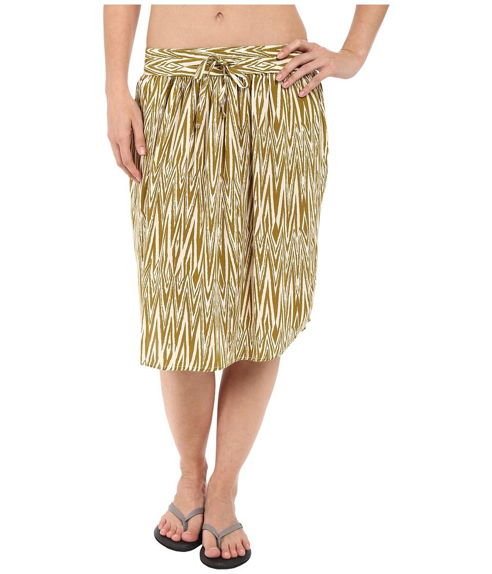 KAVU - Joplin Skirt (Olive) Women's Skirt