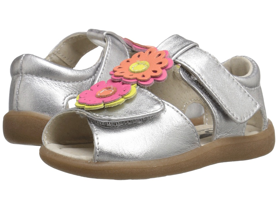 See Kai Run Kids - Callie Anne (Toddler) (Silver) Girl's Shoes