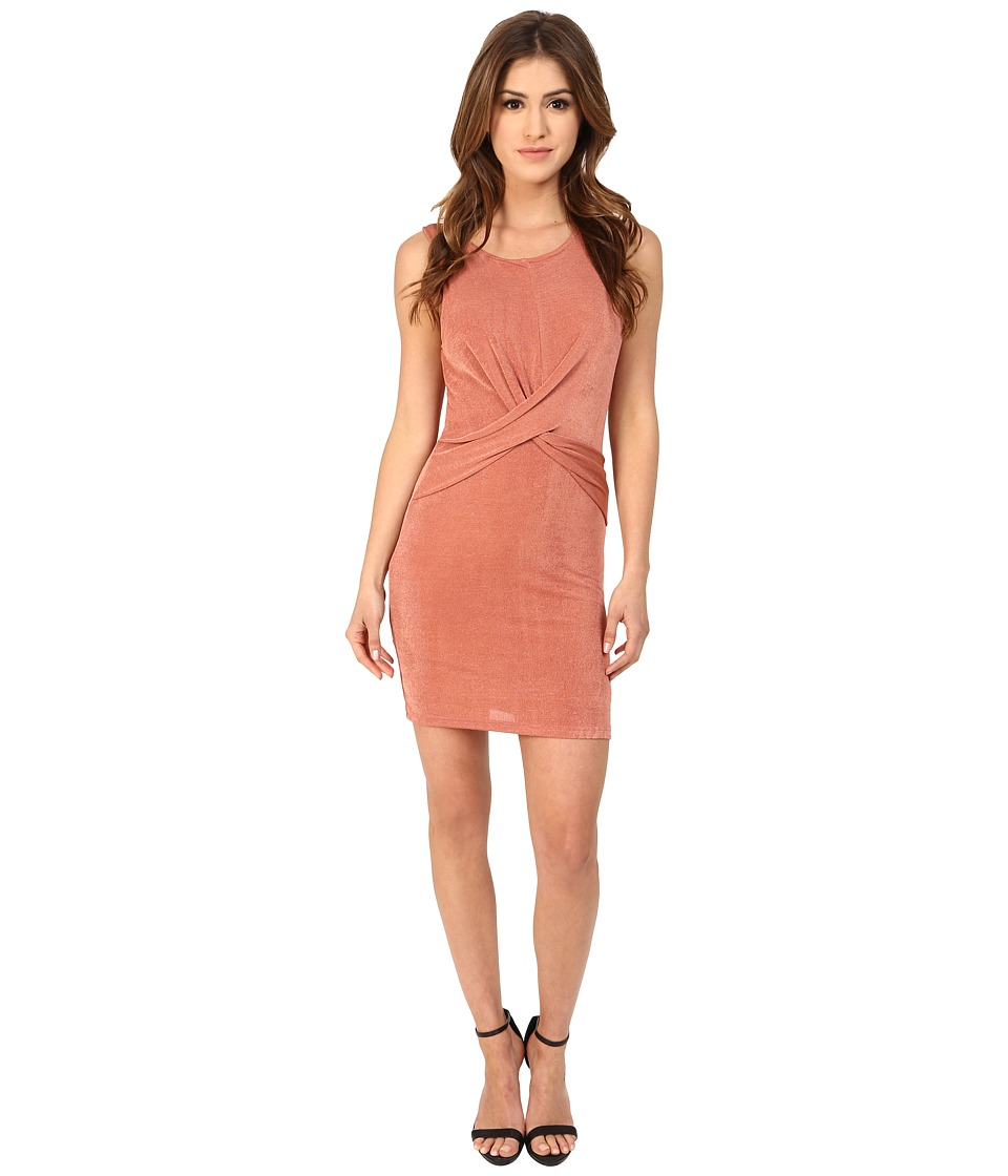 MINKPINK - Forbidden Love Mini Dress (Dusty Rose) Women's Dress