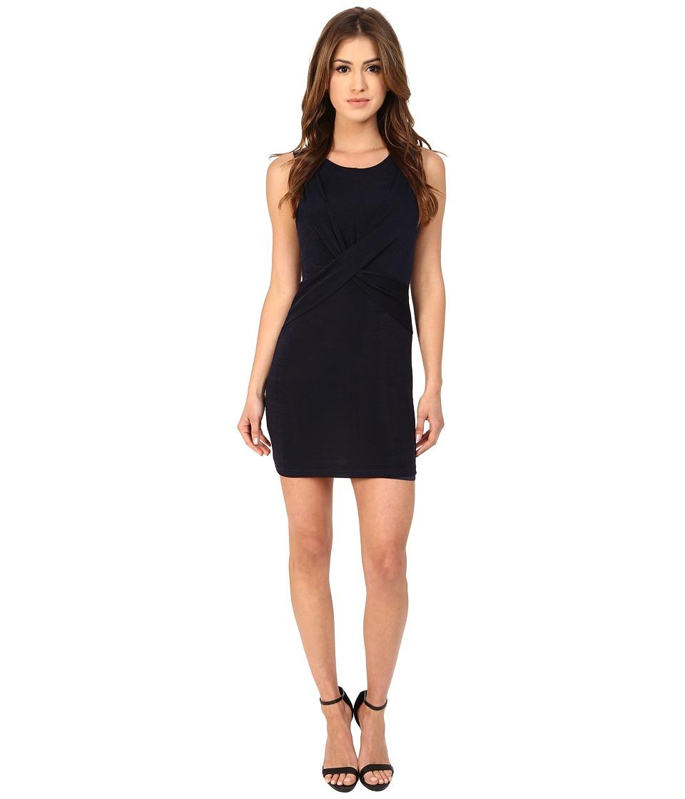 MINKPINK - Forbidden Love Mini Dress (Navy) Women's Dress