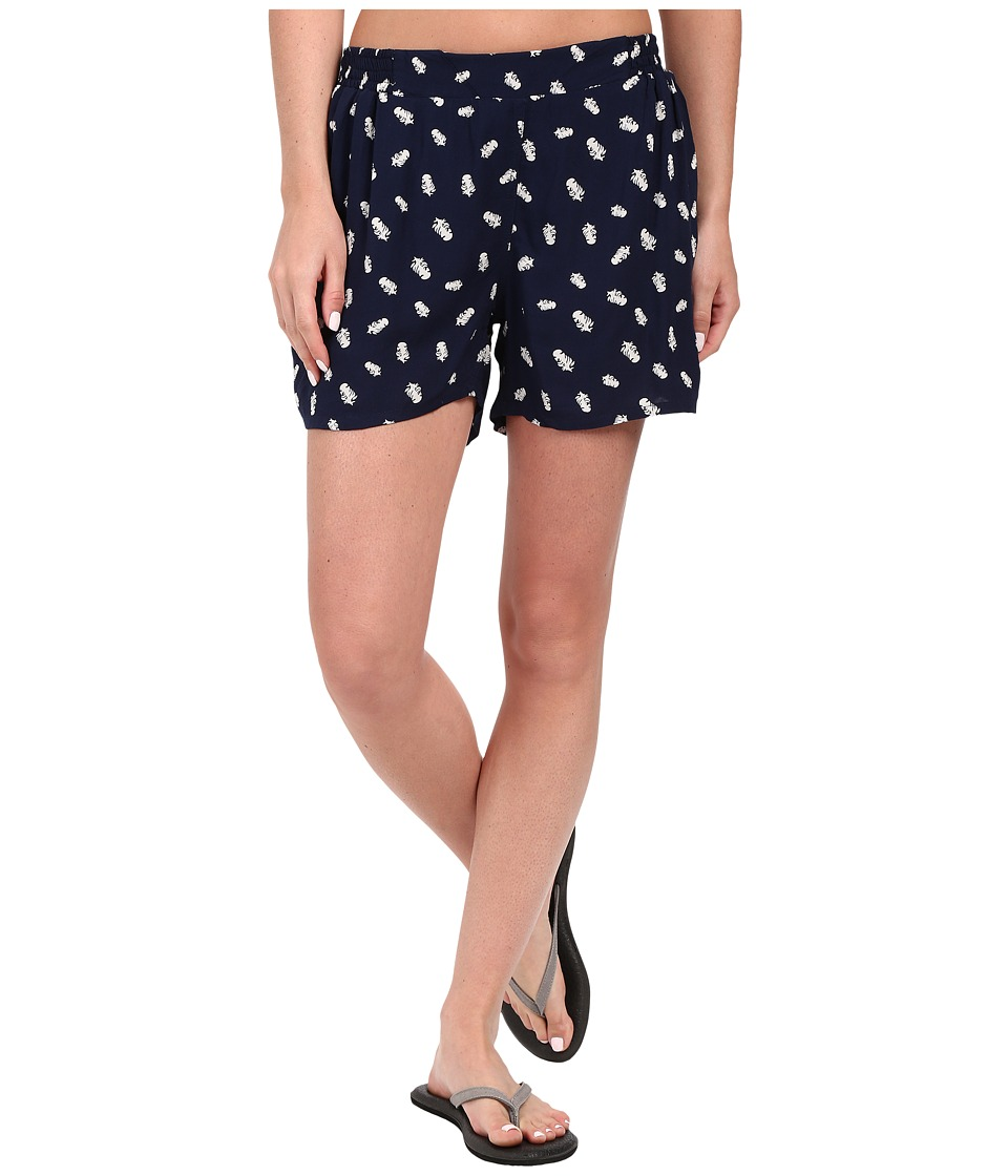 KAVU - Sally Shorts (Navy) Women's Shorts
