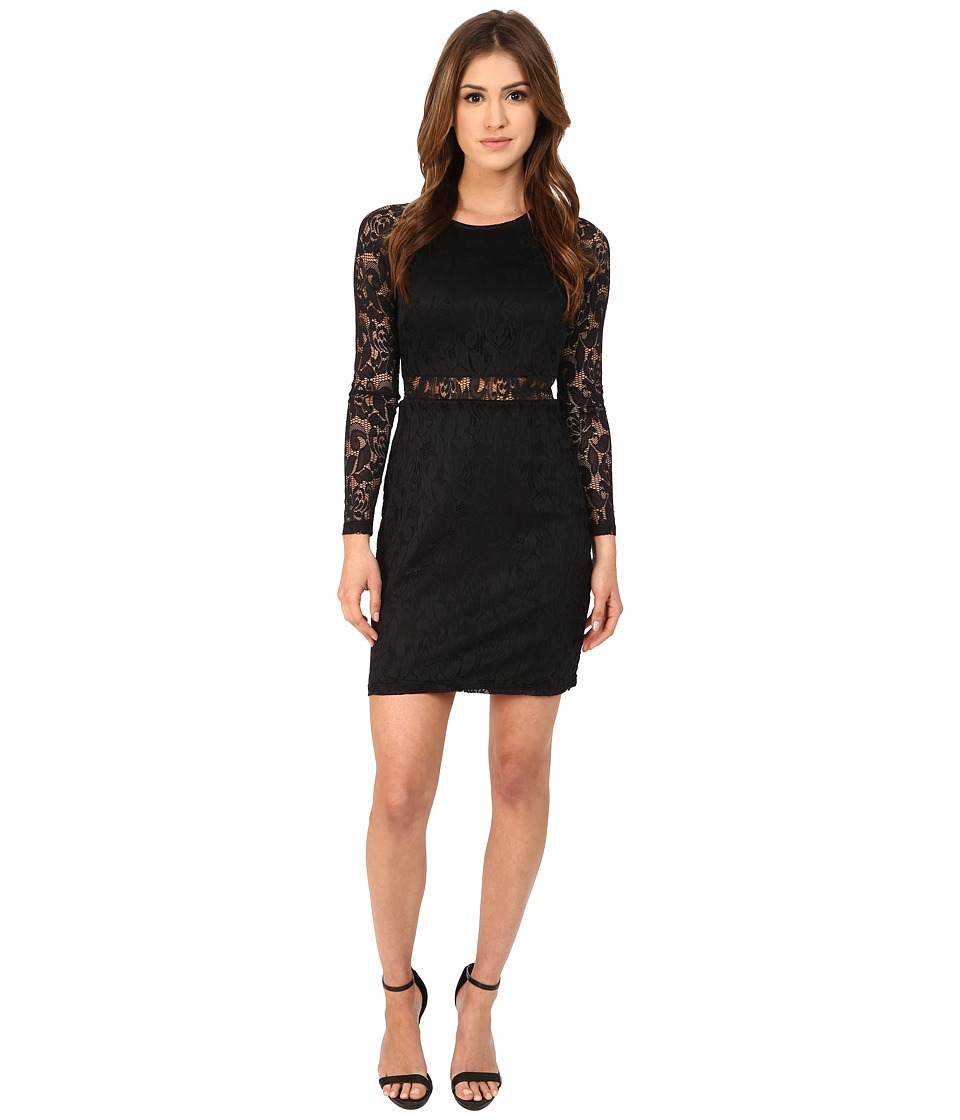 MINKPINK - First Place Mini Dress (Black) Women's Dress