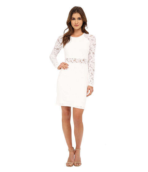 MINKPINK - First Place Mini Dress (Off-White) Women's Dress