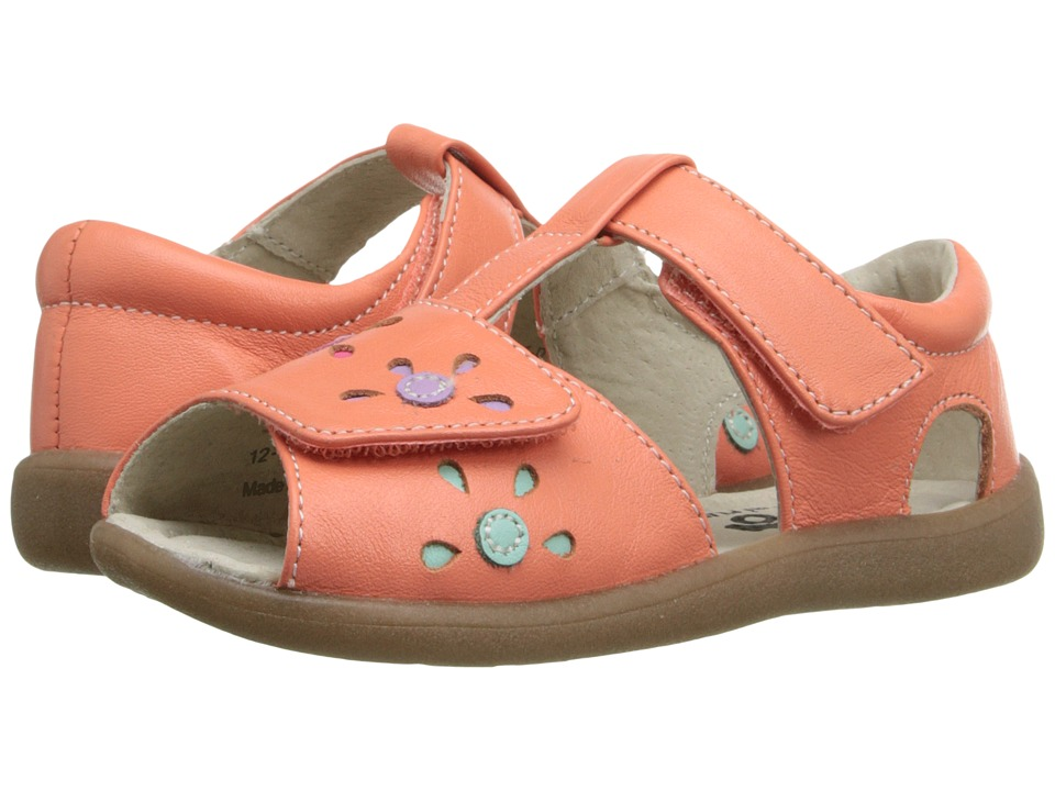 See Kai Run Kids - Mal B. (Toddler) (Coral) Girl's Shoes