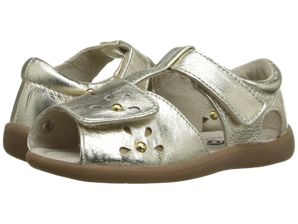 See Kai Run Kids - Mal B. (Toddler) (Gold) Girl's Shoes