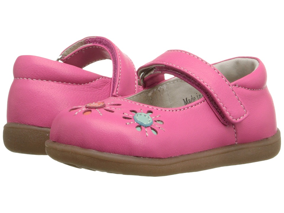 See Kai Run Kids - Juniper (Toddler) (Hot Pink) Girl's Shoes
