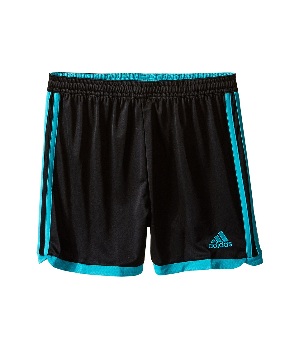 adidas Kids - Tastigo 15 Short-Drydye (Little Kids/Big Kids) (Black/Shock Green) Girl's Shorts