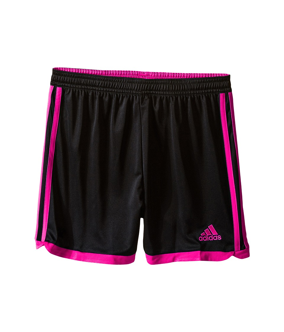 adidas Kids - Tastigo 15 Short-Drydye (Little Kids/Big Kids) (Black/Shock Pink) Girl's Shorts