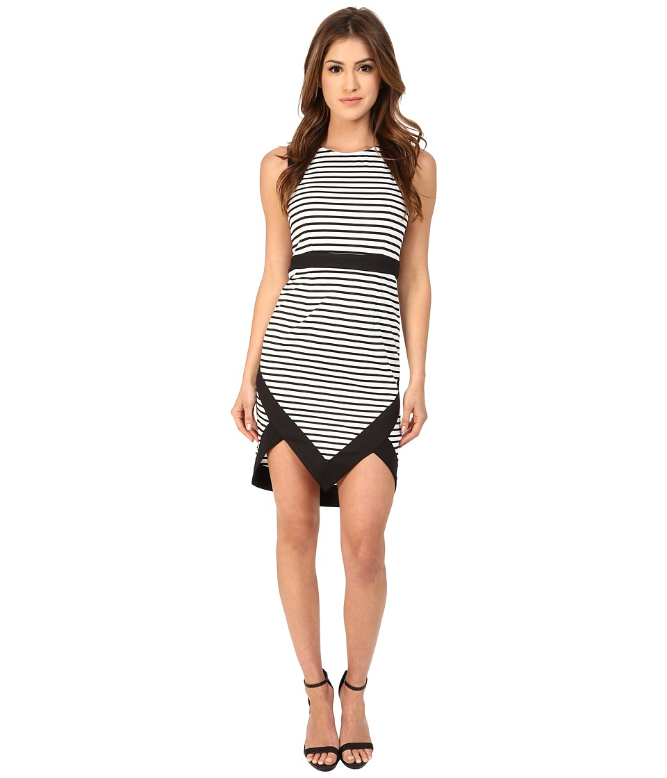 MINKPINK - Hide and Seek Mini Dress (Black/White) Women