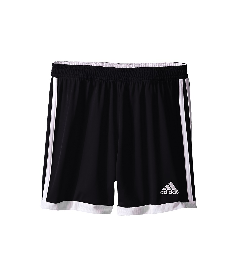 adidas Kids - Tastigo 15 Short-Drydye (Little Kids/Big Kids) (Black/White 1) Girl's Shorts