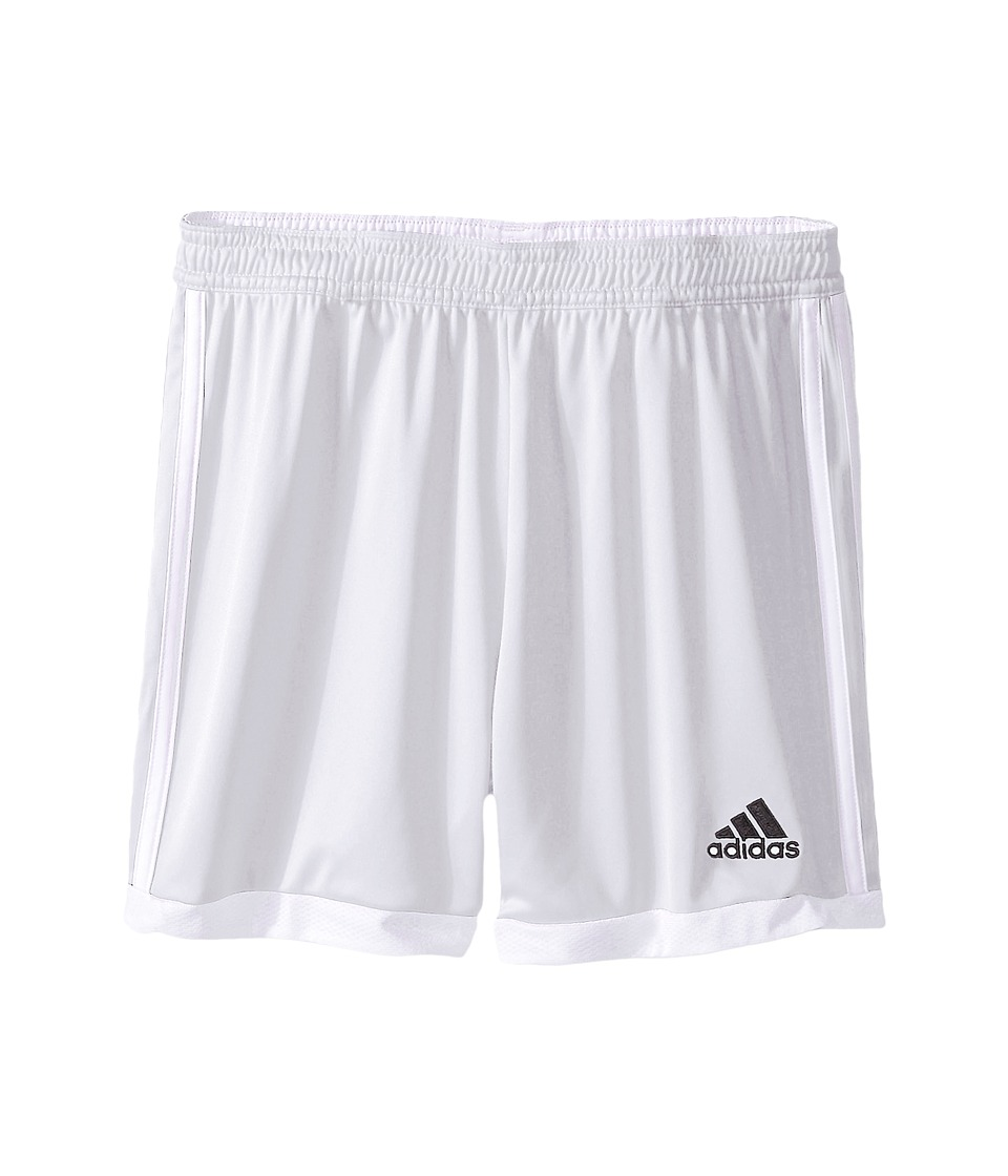 adidas Kids - Tastigo 15 Short-Drydye (Little Kids/Big Kids) (White/White 1) Girl's Shorts