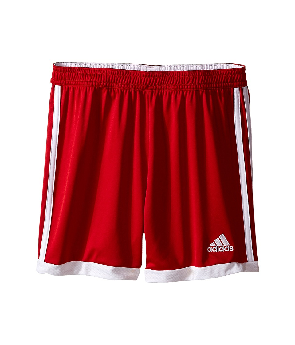 adidas Kids - Tastigo 15 Short-Drydye (Little Kids/Big Kids) (Power Red/White 1) Girl's Shorts