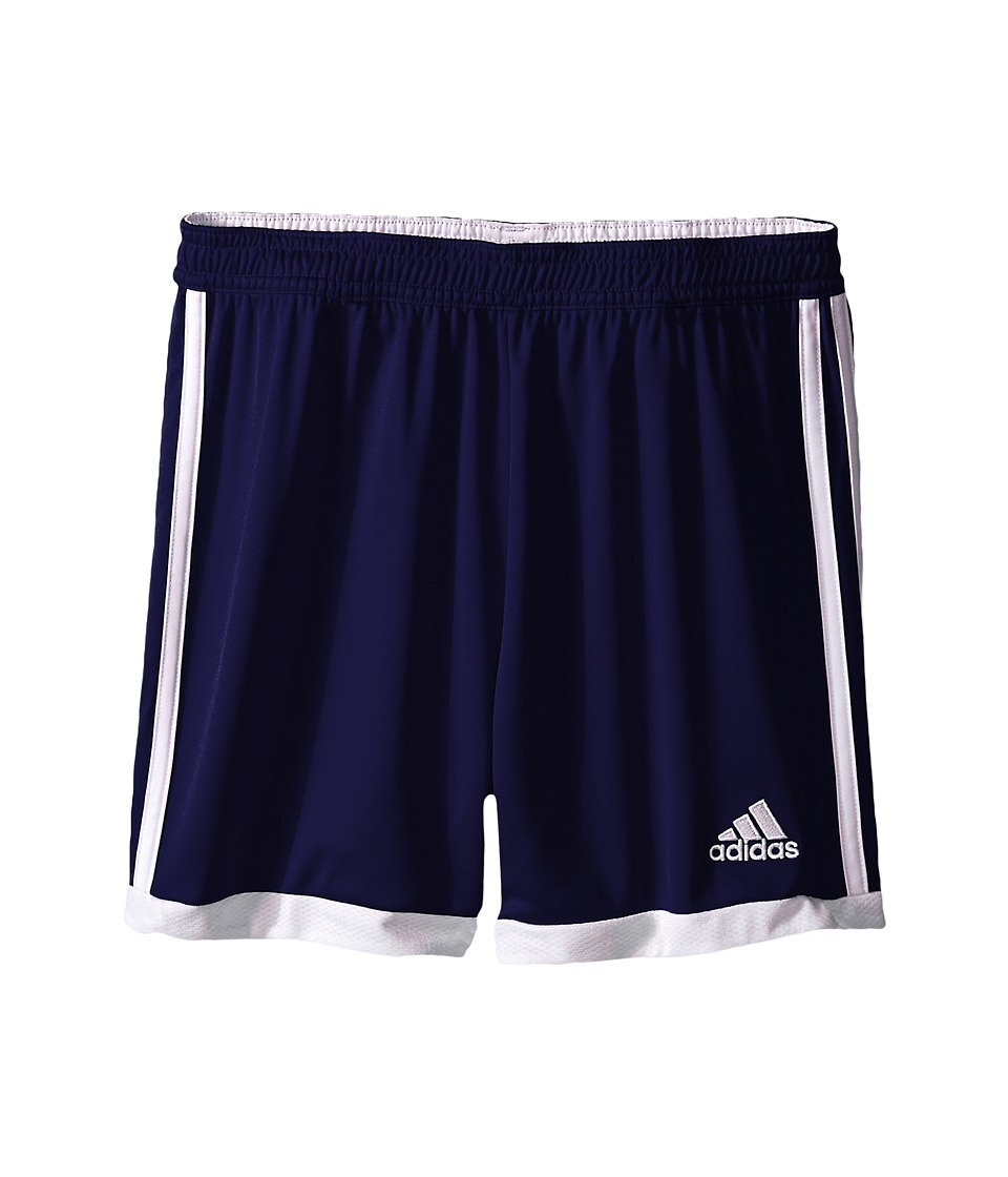 adidas Kids - Tastigo 15 Short-Drydye (Little Kids/Big Kids) (Dark Blue/White 1) Girl's Shorts