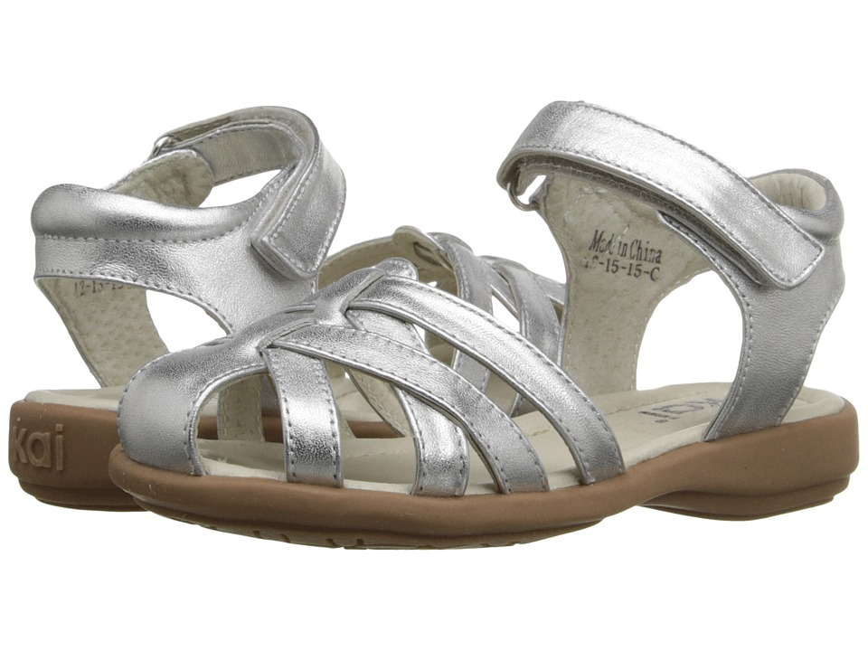 See Kai Run Kids Camila (Toddler/Little Kid) (Silver) Girl