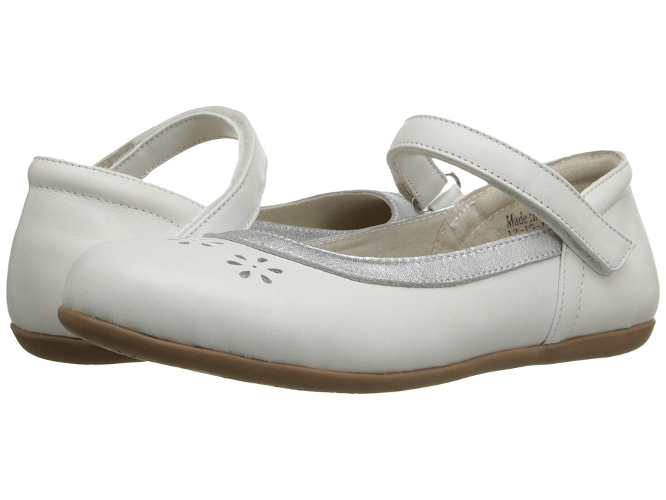 See Kai Run Kids - Tori II (Toddler/Little Kid) (White) Girl's Shoes