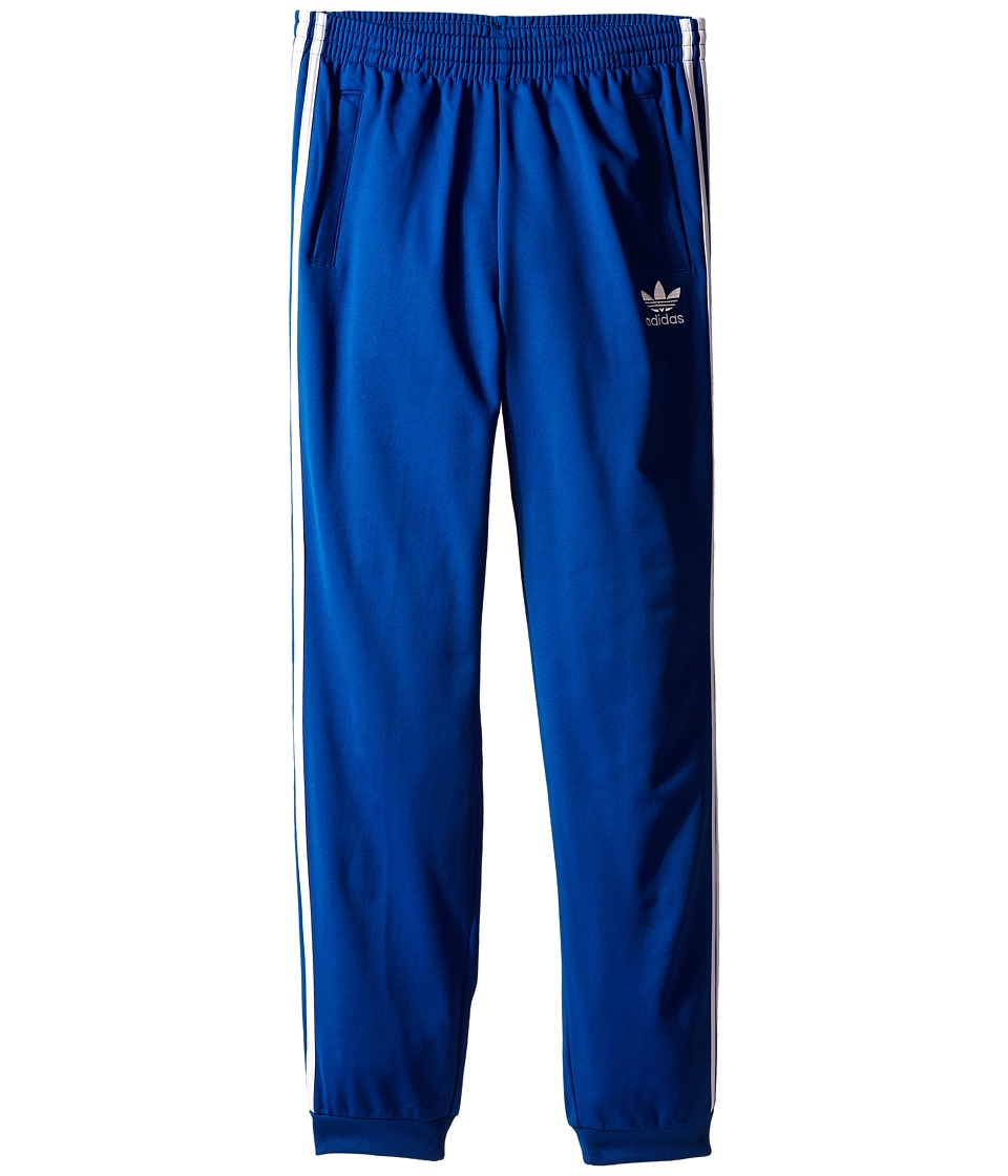 adidas Originals Kids - J Sst Pants (Little Kids/Big Kids) (EQT Blue/White) Boy's Casual Pants