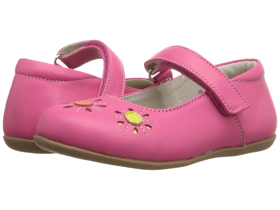 See Kai Run Kids - Rosie (Toddler/Little Kid) (Hot Pink) Girl's Shoes