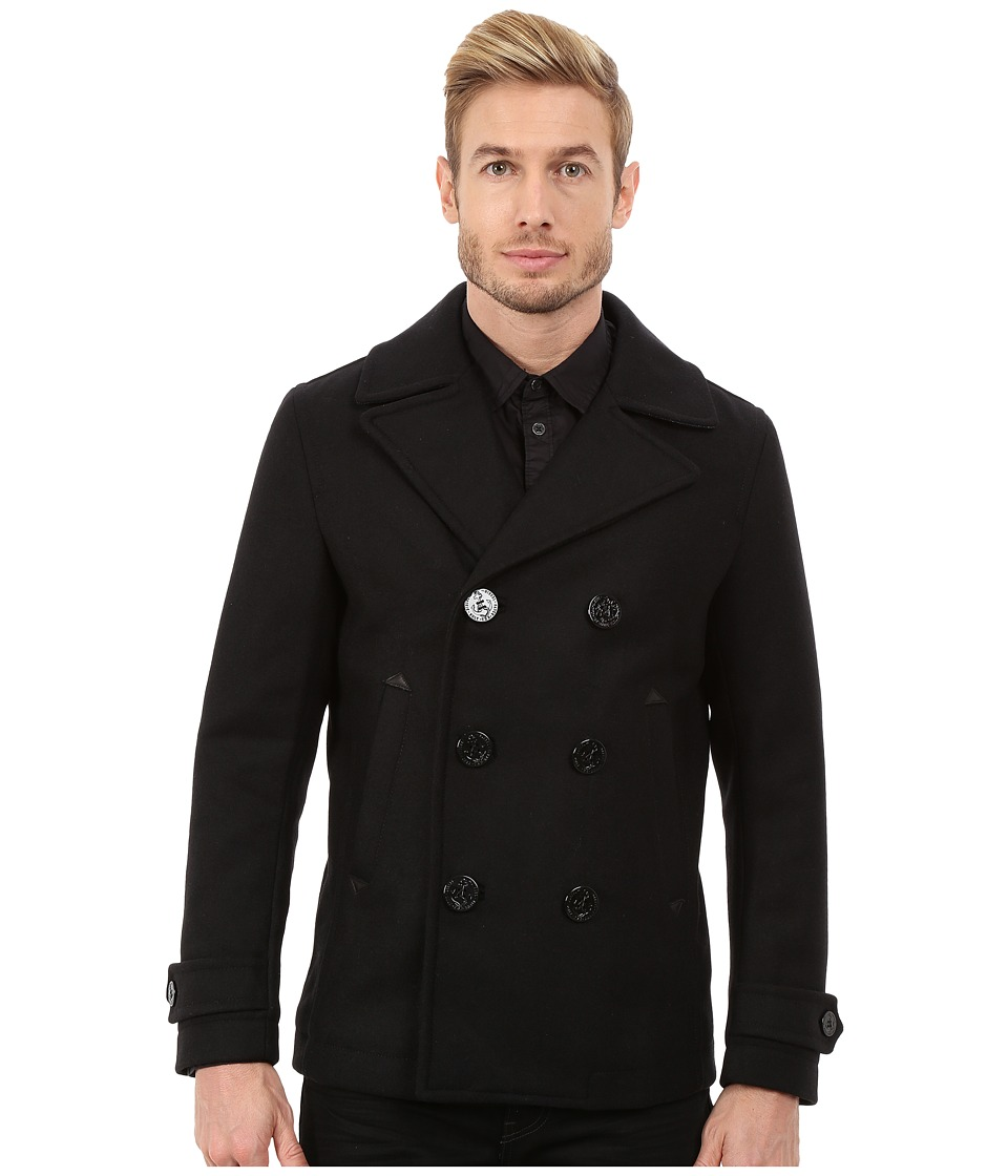 Diesel - W-Sami Jacket (Black) Men's Coat
