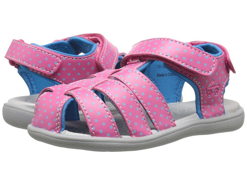 See Kai Run Kids - Paley (Toddler) (Hot Pink) Girl's Shoes