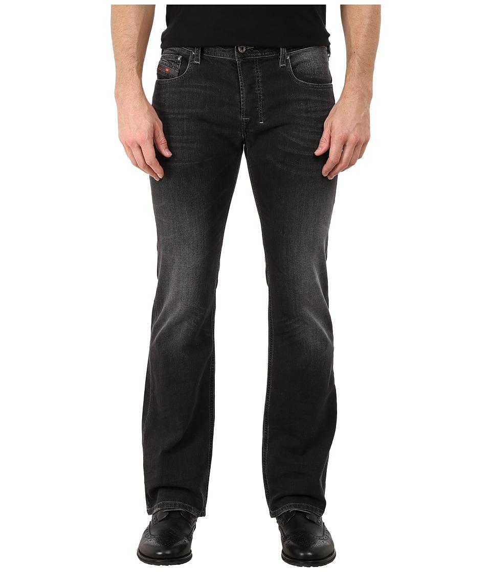 Diesel - Zatiny Trousers in Black/Denim 669F (Black/Denim) Men's Jeans