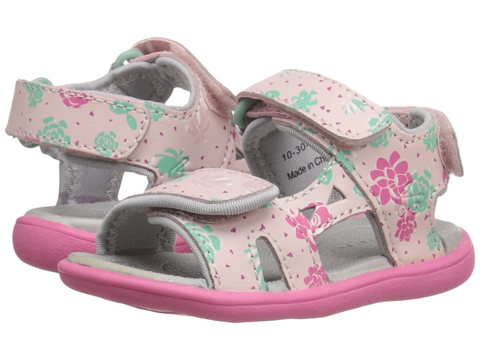 See Kai Run Kids - Makena (Toddler) (Pink) Girl's Shoes