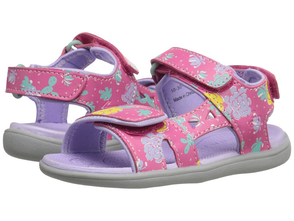 See Kai Run Kids - Makena (Toddler) (Hot Pink) Girl's Shoes