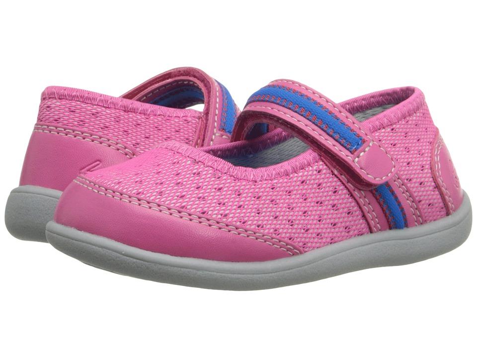 See Kai Run Kids - Westport (Toddler) (Hot Pink) Girl's Shoes