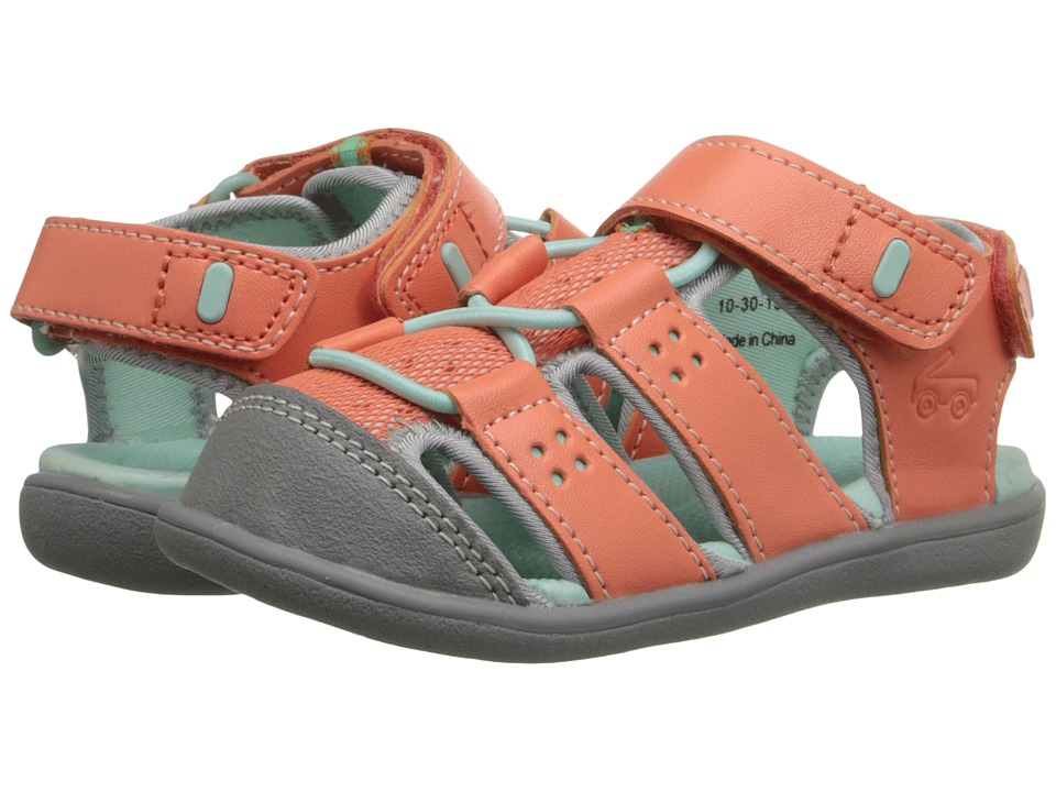See Kai Run Kids - Lincoln (Toddler) (Coral) Girl's Shoes