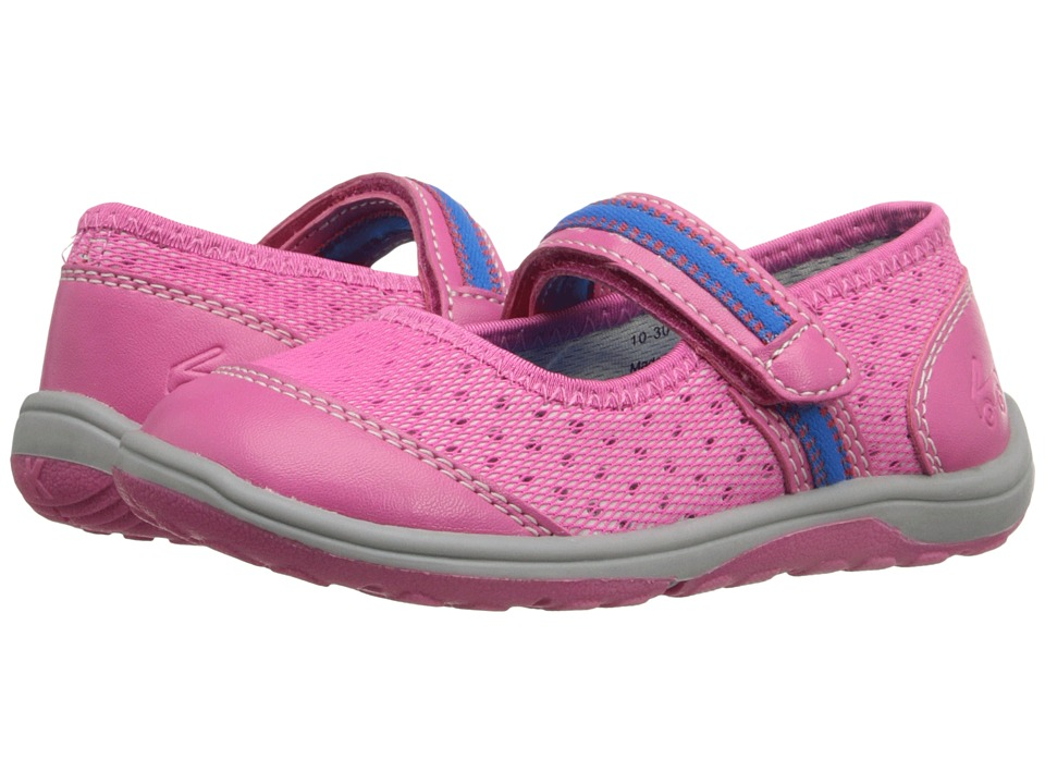 See Kai Run Kids - Laurelwood (Toddler/Little Kid) (Hot Pink) Girl's Shoes