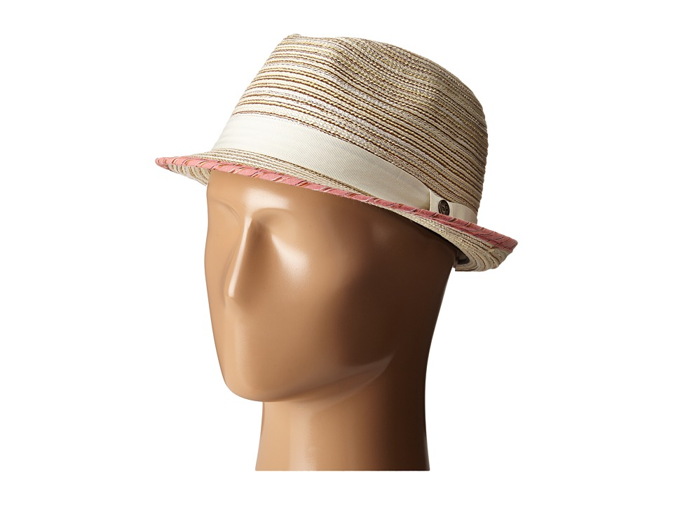 Pistil - Malone (Natural) Fedora Hats