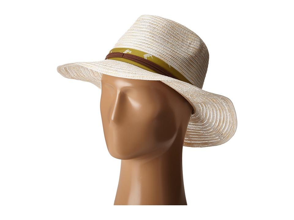 Pistil - Camille (Natural) Fedora Hats