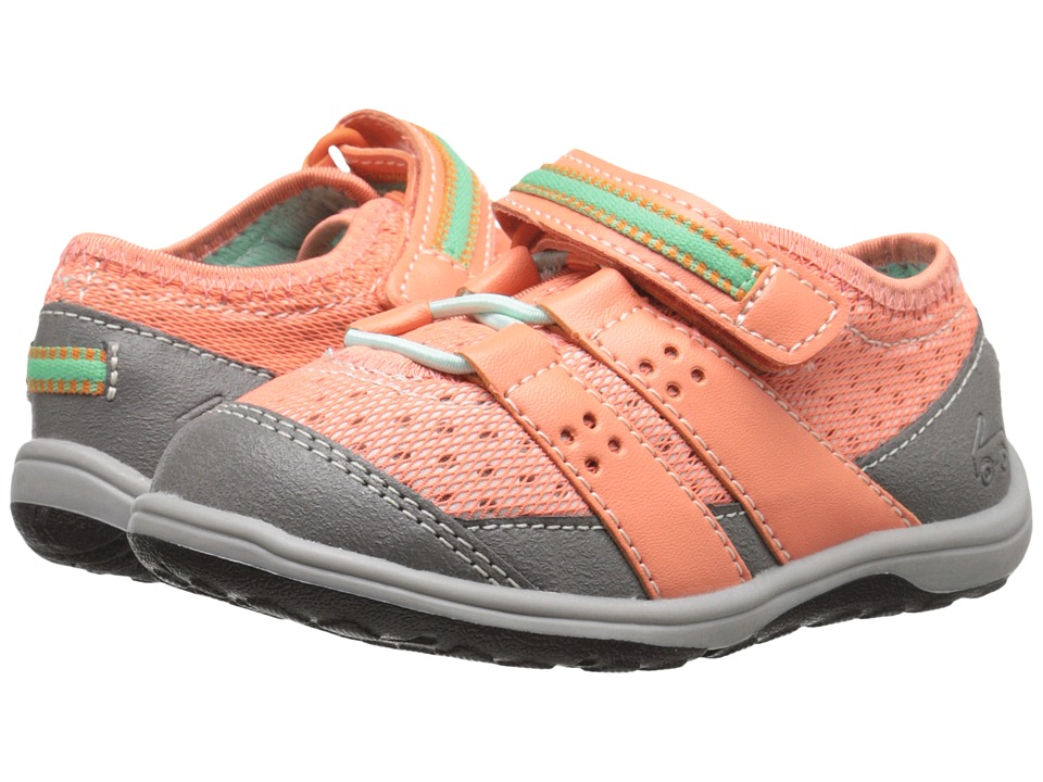 See Kai Run Kids - Magnuson (Toddler/Little Kid) (Coral) Girl's Shoes