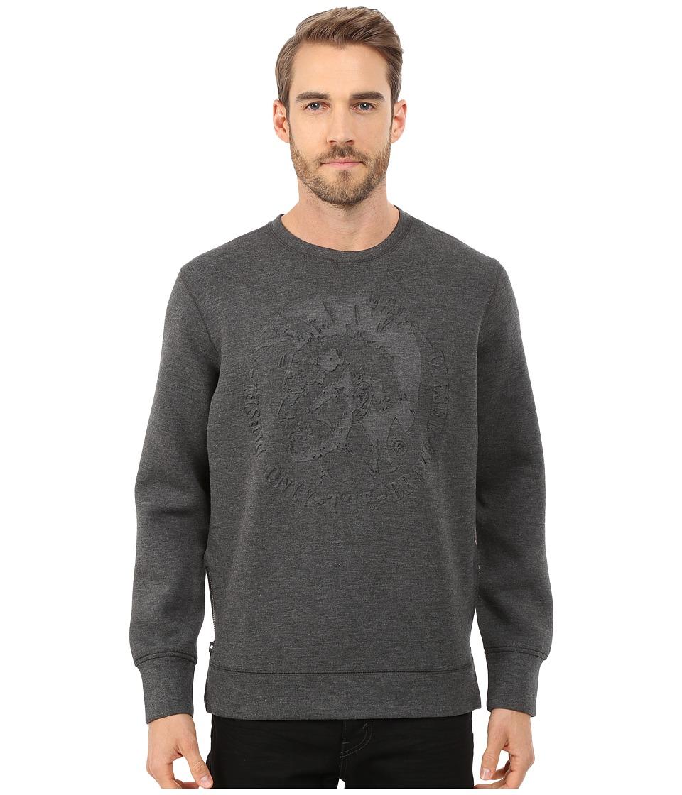 Diesel - S-Verok Sweatshirt (Dark/Grey) Men's Sweatshirt
